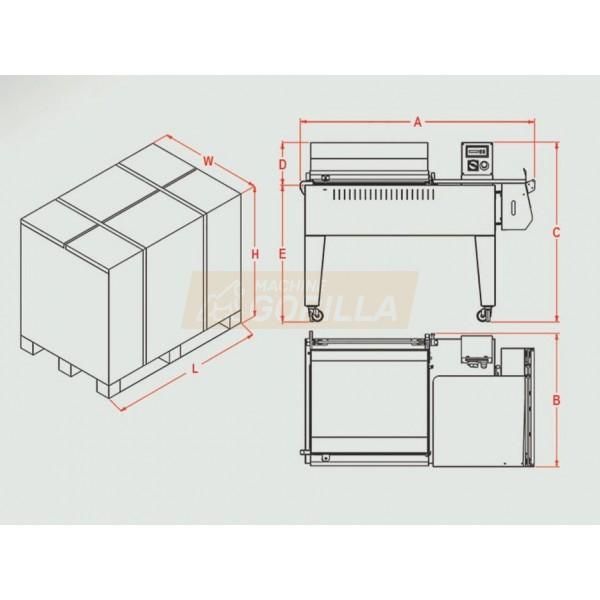 Maripak - L- Sealer Compack Series - Model # 5800i