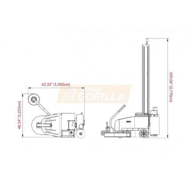 Eagle - Stretch Wrapper - Model - R2B2