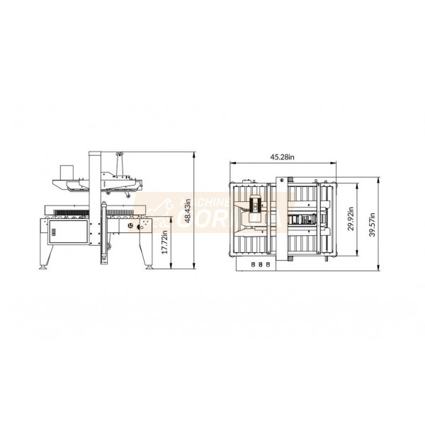 Eagle - Carton Sealer - Model # T400R