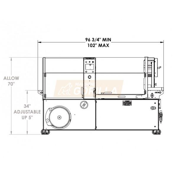 Texwrap - Side Sealer - Model - # STB-2810BSSR