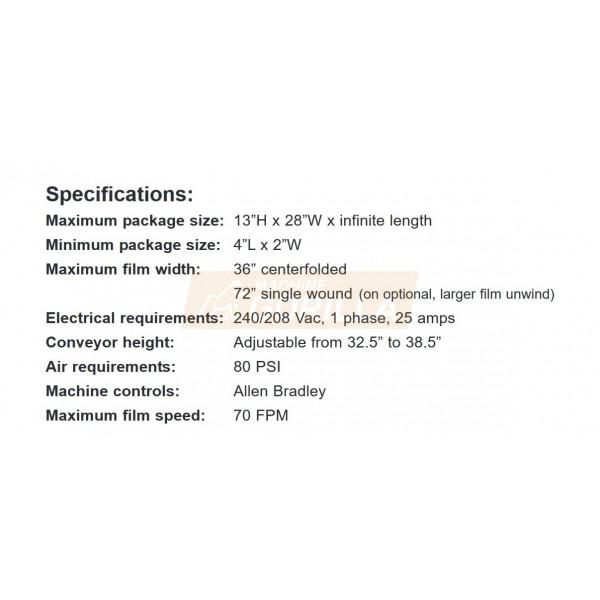 Texwrap - Side Sealer - Model - # STB-3014ISS